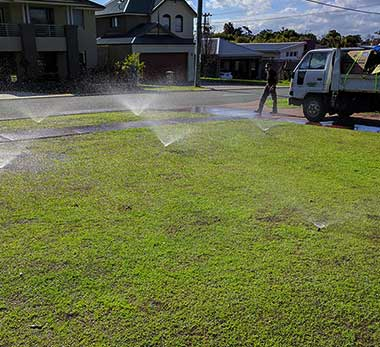 Reticulation maintenance